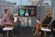 Michelle Beadle in a skirt on SportsNation 7/12, no desk